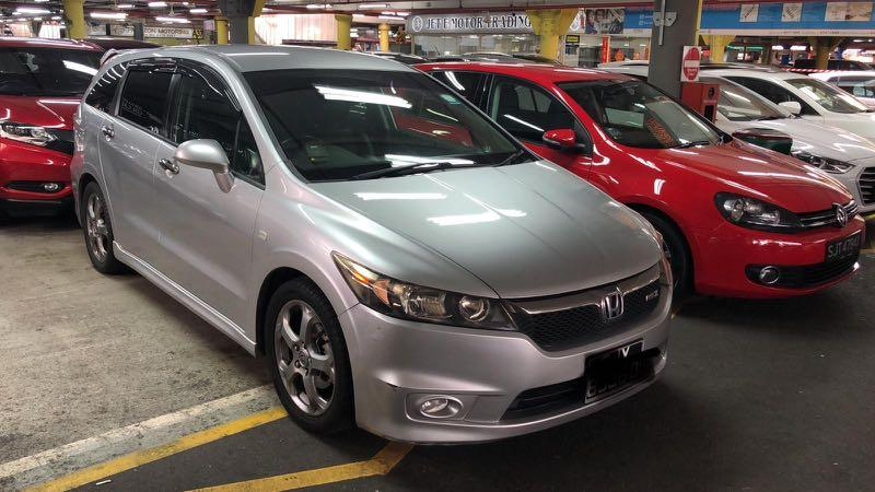 *Honda Stream RSZ 1.8L (Silver)* Cheap Car Rental*
