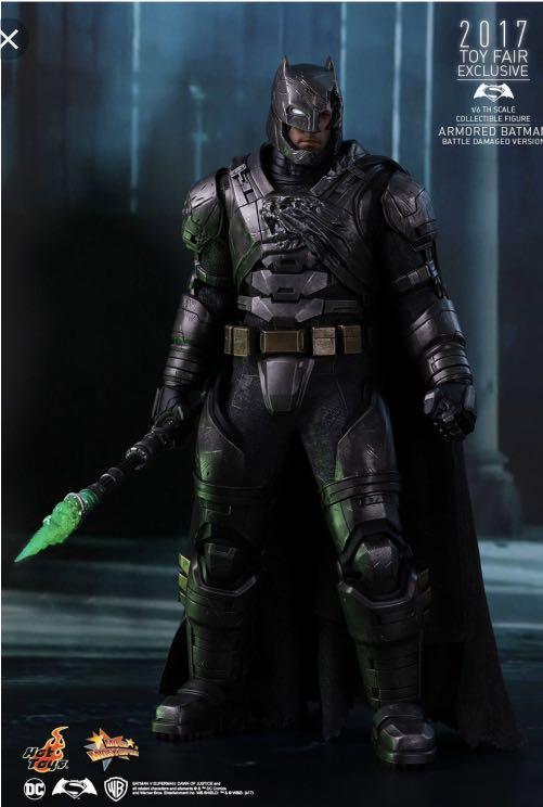Hot Toys Armored Batman