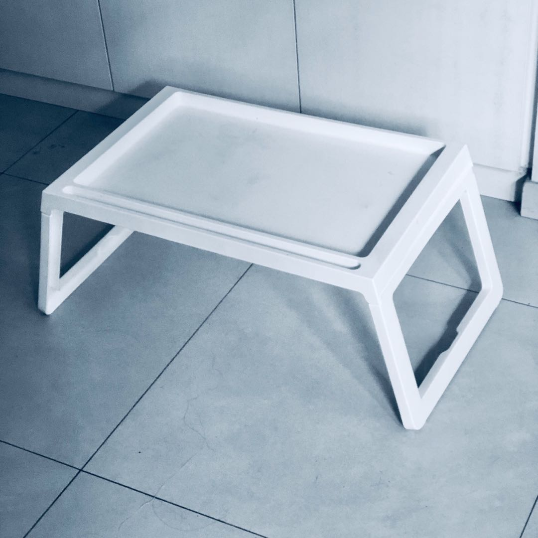 - IKEA Klipsk Bed Tray Folding Table, Furniture, Tables & Chairs On