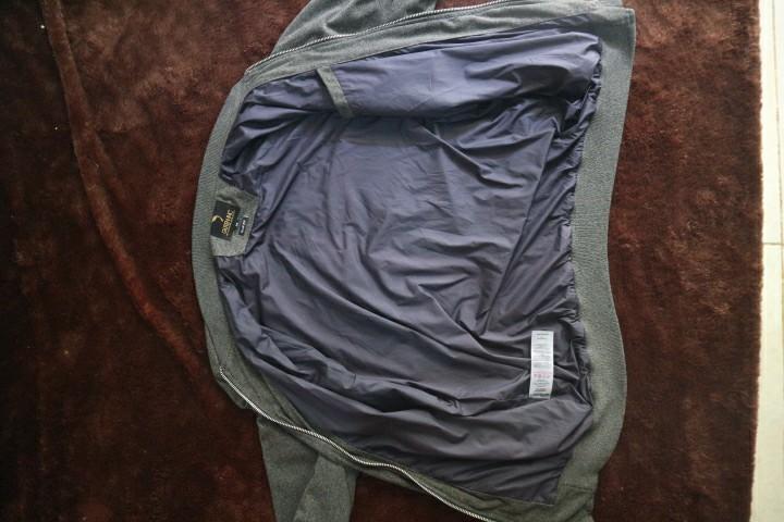 Jaket GUTEN INC Suede Bomber Jacket