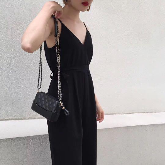 Jumpsuit / Col - Black