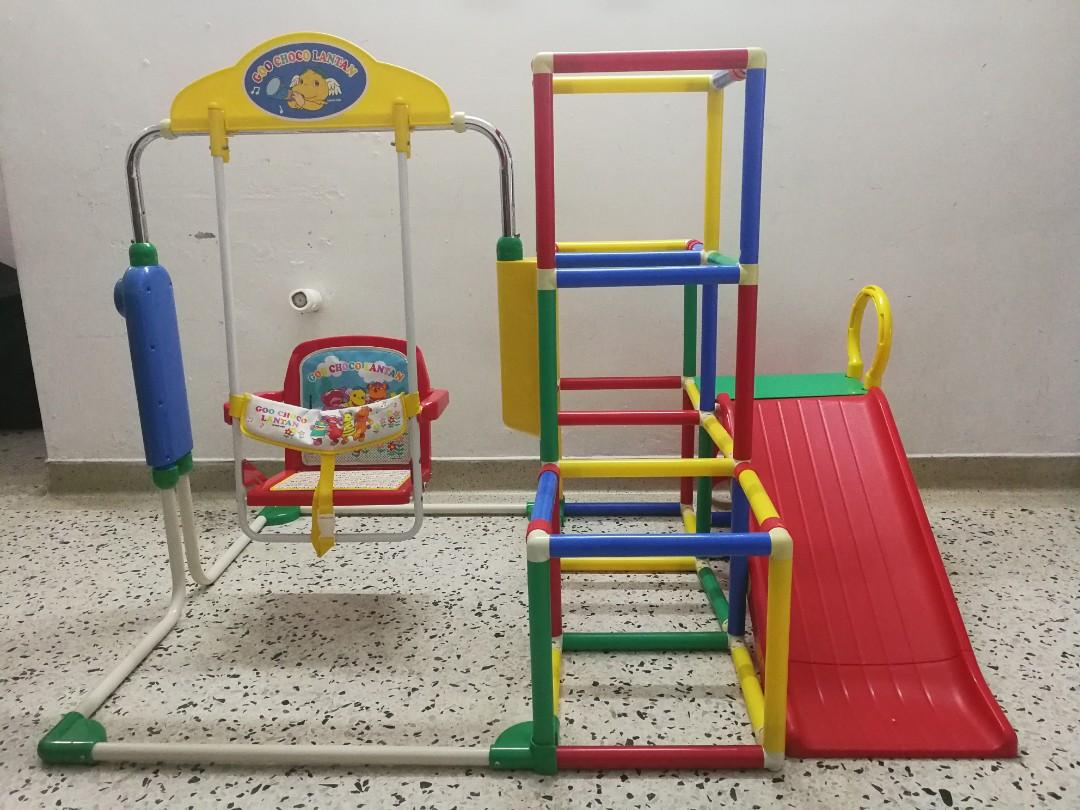 Kids playground foldable with music (Preloved)