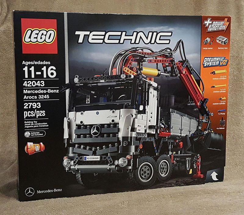 全新Lego Technic 42043 Mercedes-Benz Arocs