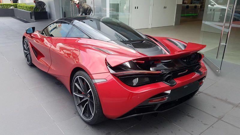 McLaren 720S 4.0 V8 (A)