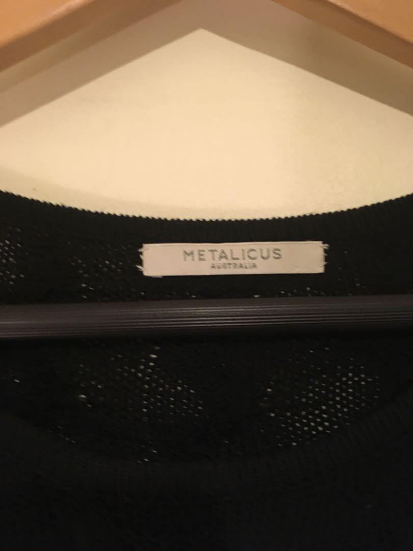 Metalicus Knit Dress
