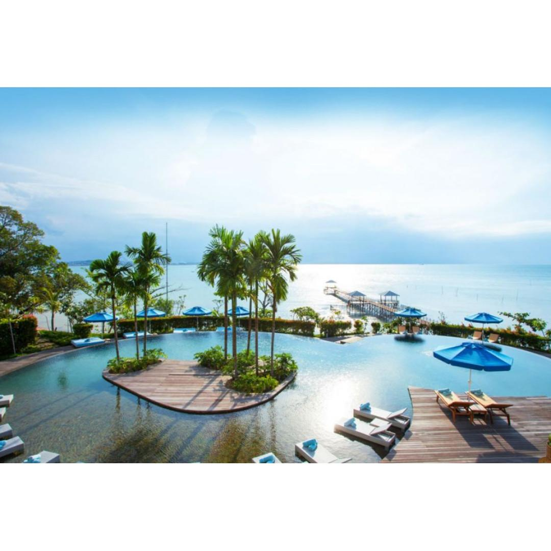 Montigo Resort Batam with private pool package including ferry breakfast and land transfer