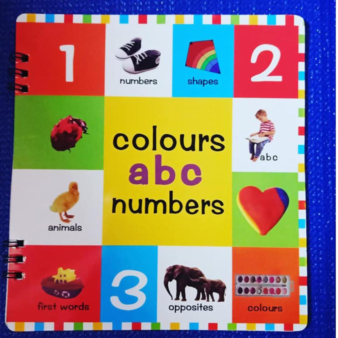 My First Books Set - First 100 Animals, First 100 Words, Shapes & Colors, ABC, Numbers
