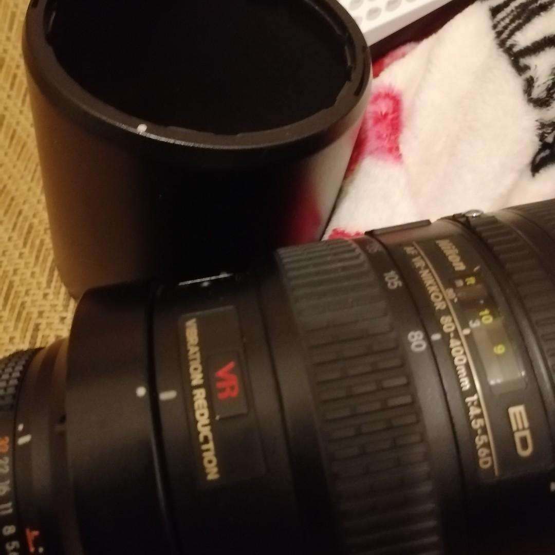 出售Nikon ED AF VR Nikkor 80-400mm 1:4.5-5.6D