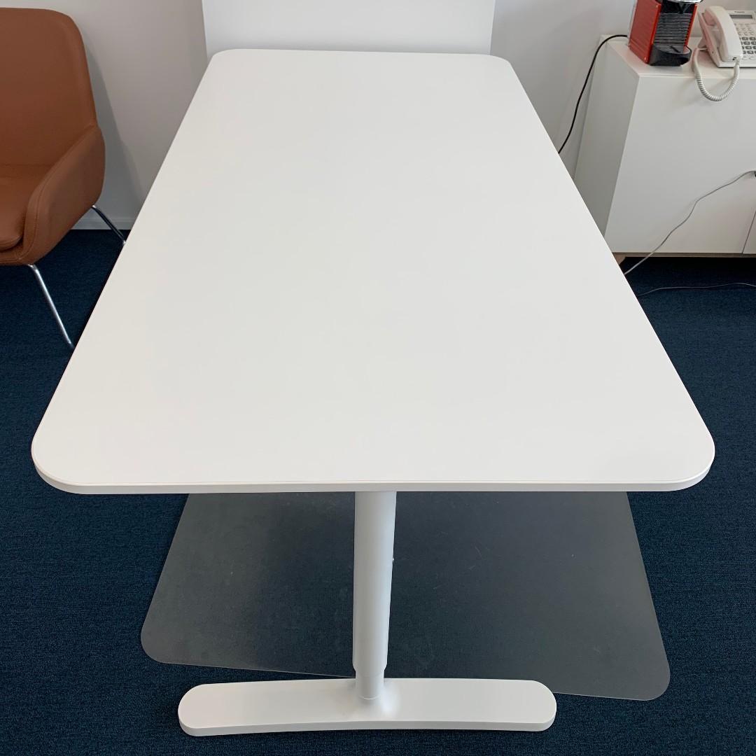 Office Desk White Furniture Tables