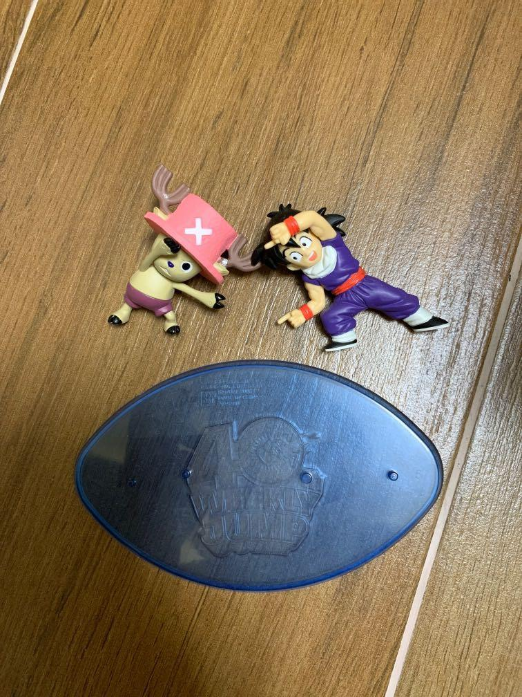 One piece x dragon ball 海賊王 x 龍珠 喬巴 索柏 鹿 x 孫悟飯 融合 食玩 figure