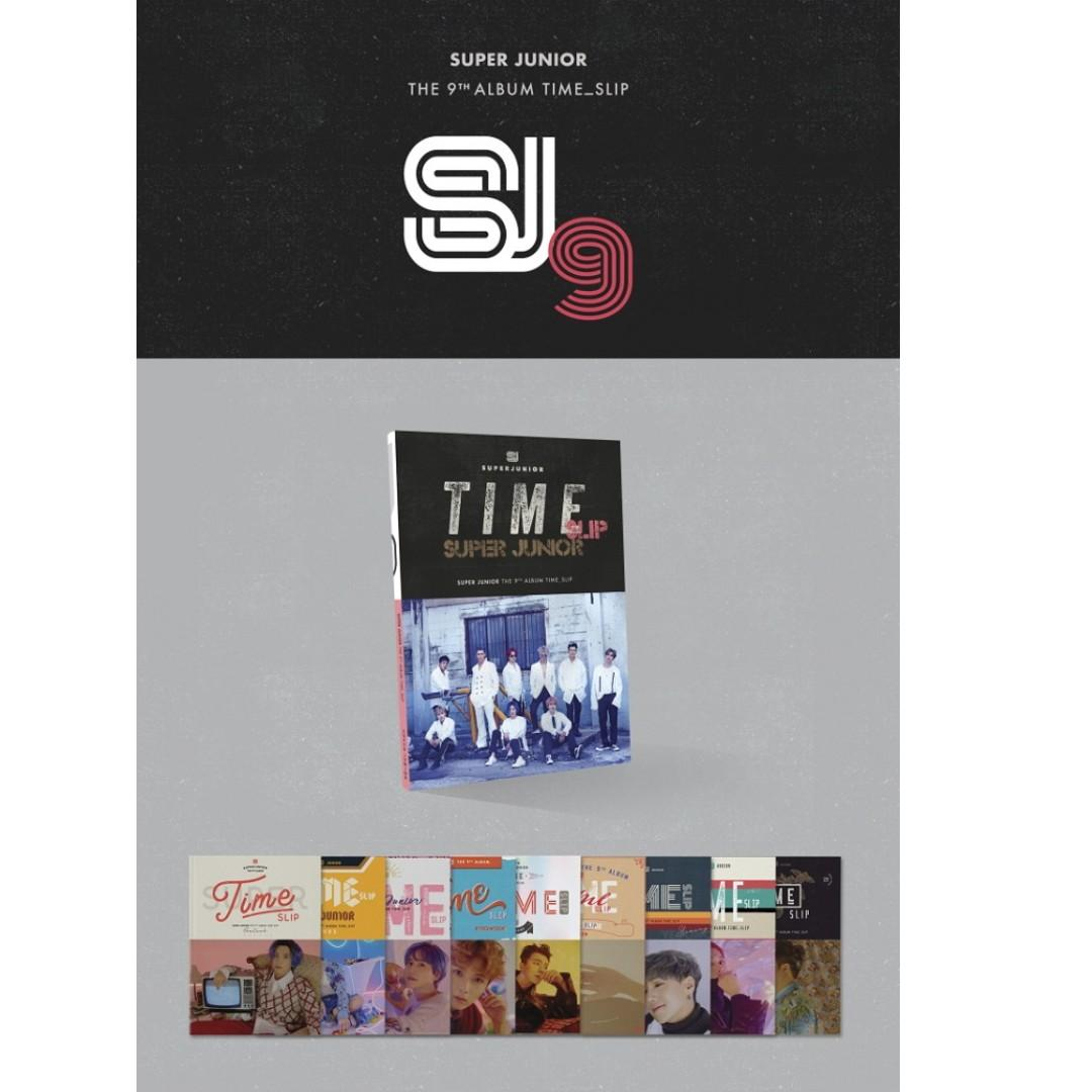 [PREORDER] 슈퍼주니어 (SUPER JUNIOR) - TIME SLIP / 9TH ALBUM