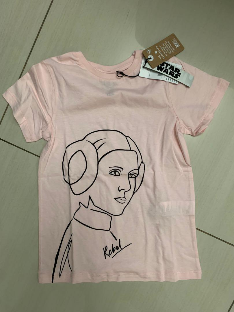 Princess leia star wars t shirt