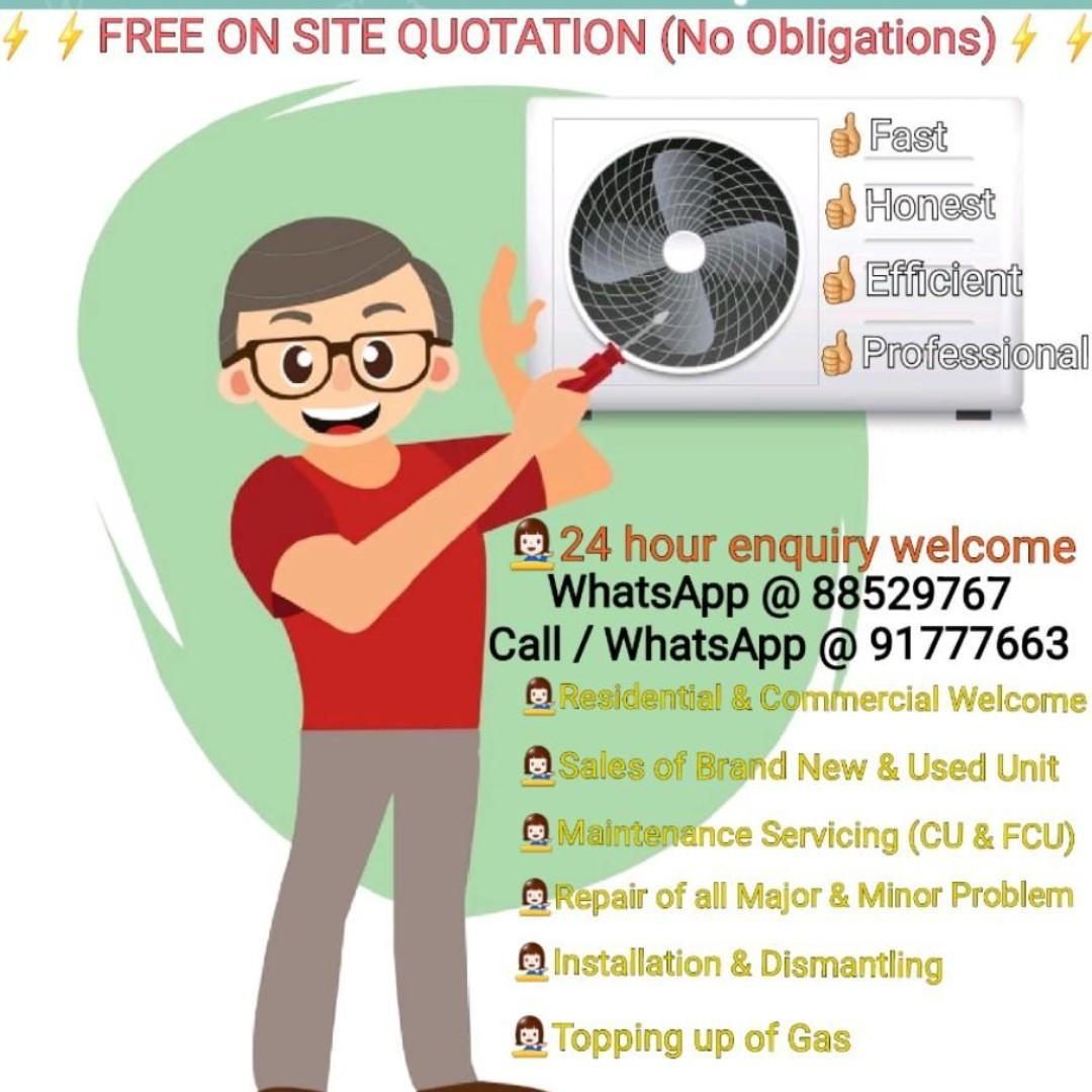 Quality Air Con Services at Affordable Price