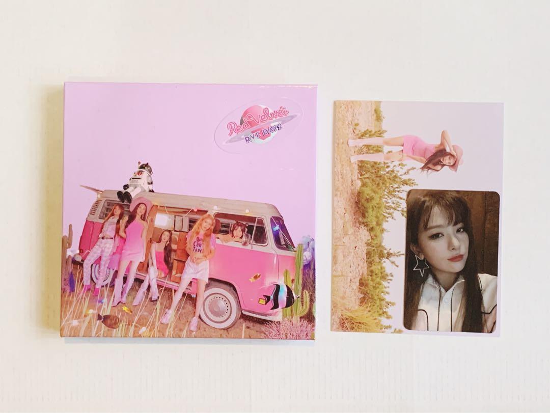 Red Velvet Day 2 Guidebook Joy Postcard + Seulgi PC