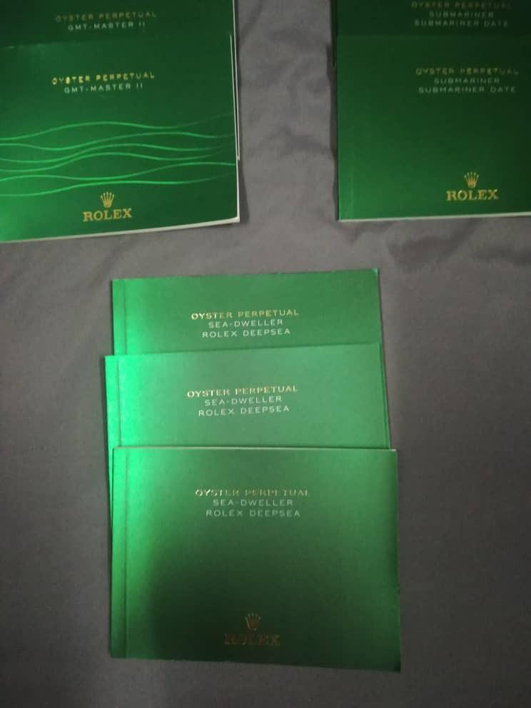 Rolex Manuals