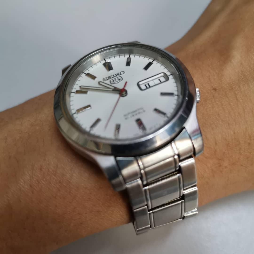 Seiko 5 Transparent Back 7s26 Automatic Watch