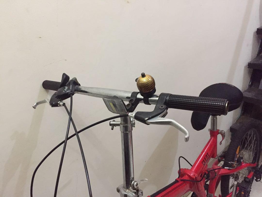 Sepeda Lipat united merah 20 inch murah
