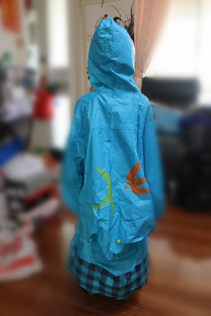 Smally Kid's Raincoat and boot set size XL /13.5 US Kids