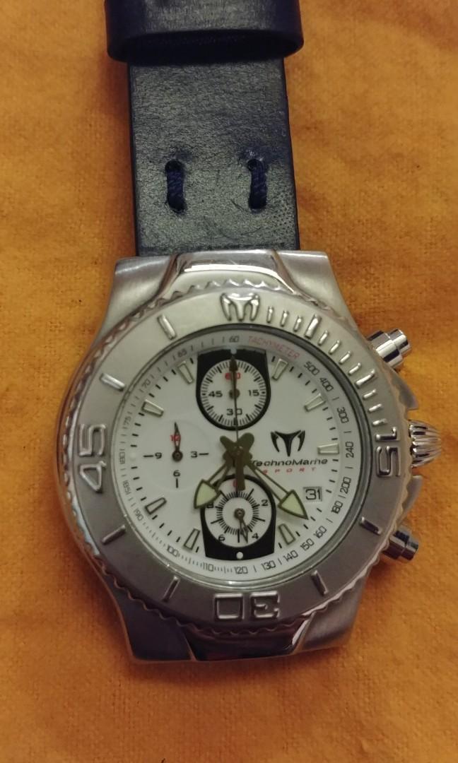 TechnoMarine chronogtaph qz watch