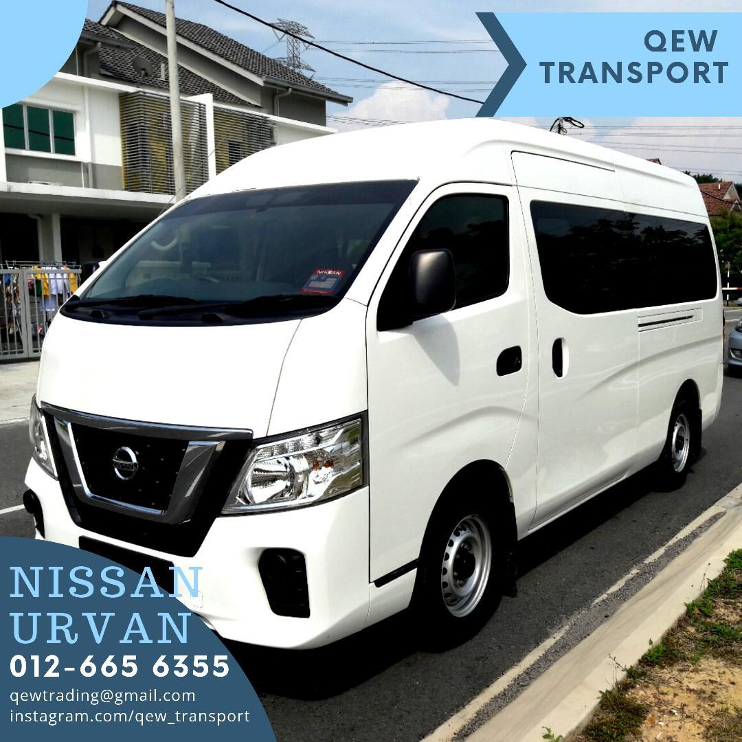 Van Sewa Nissan Urvan