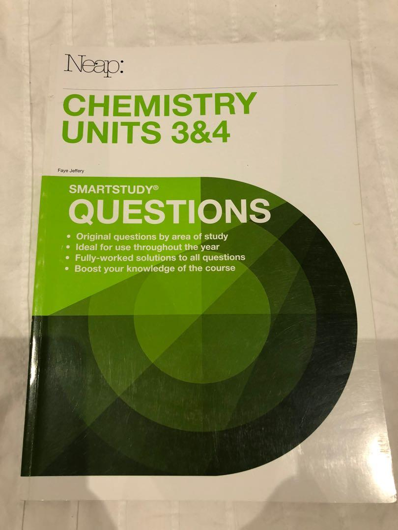 VCE Chemistry Units 3 and 4 Practise Exams + Questions