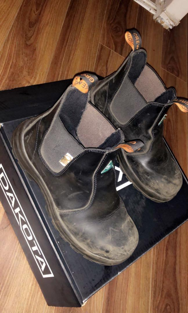 WELDING SHOES / WELDING / 4 months used /GREAT QUALITY
