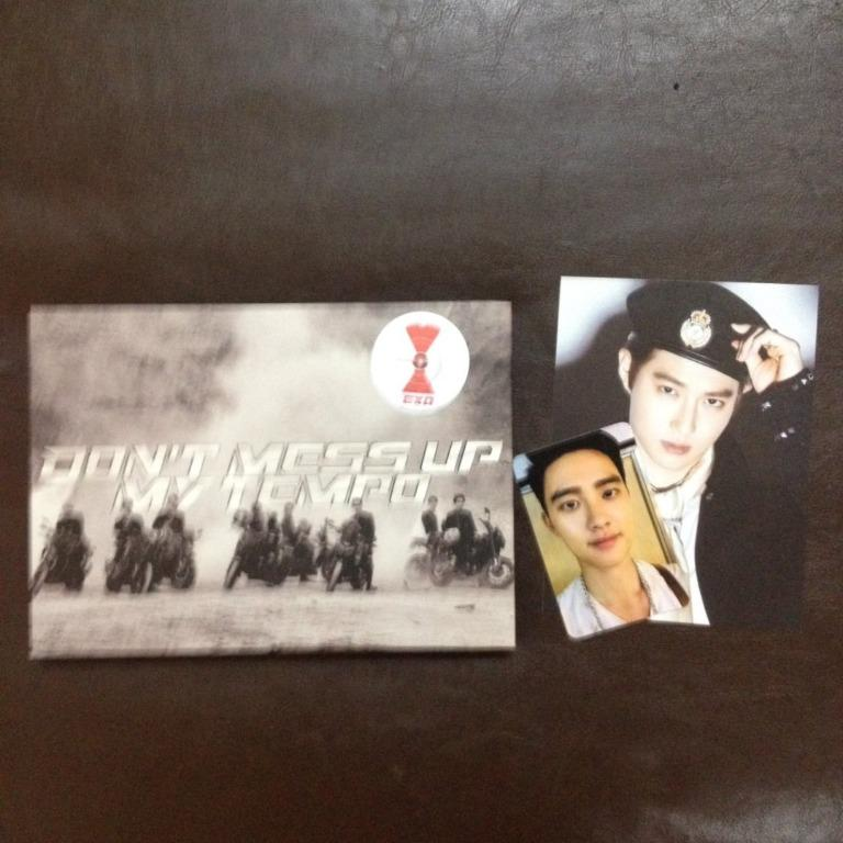 [WTS] [WANT TO SELL] EXO DON'T MESS UP MY TEMPO ANDANTE VER.