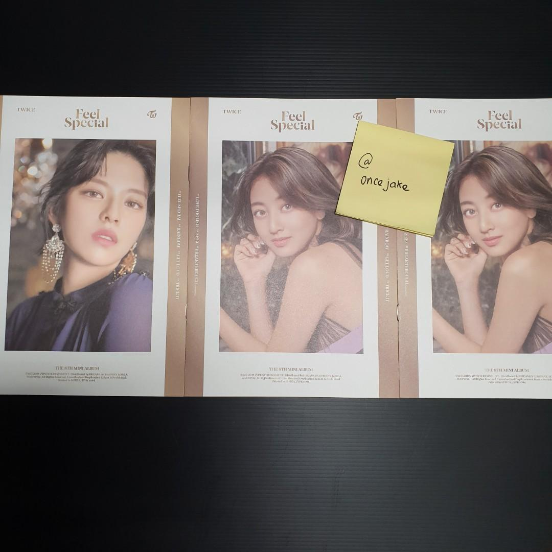 WTT TWICE FEEL SPECIAL Photocards