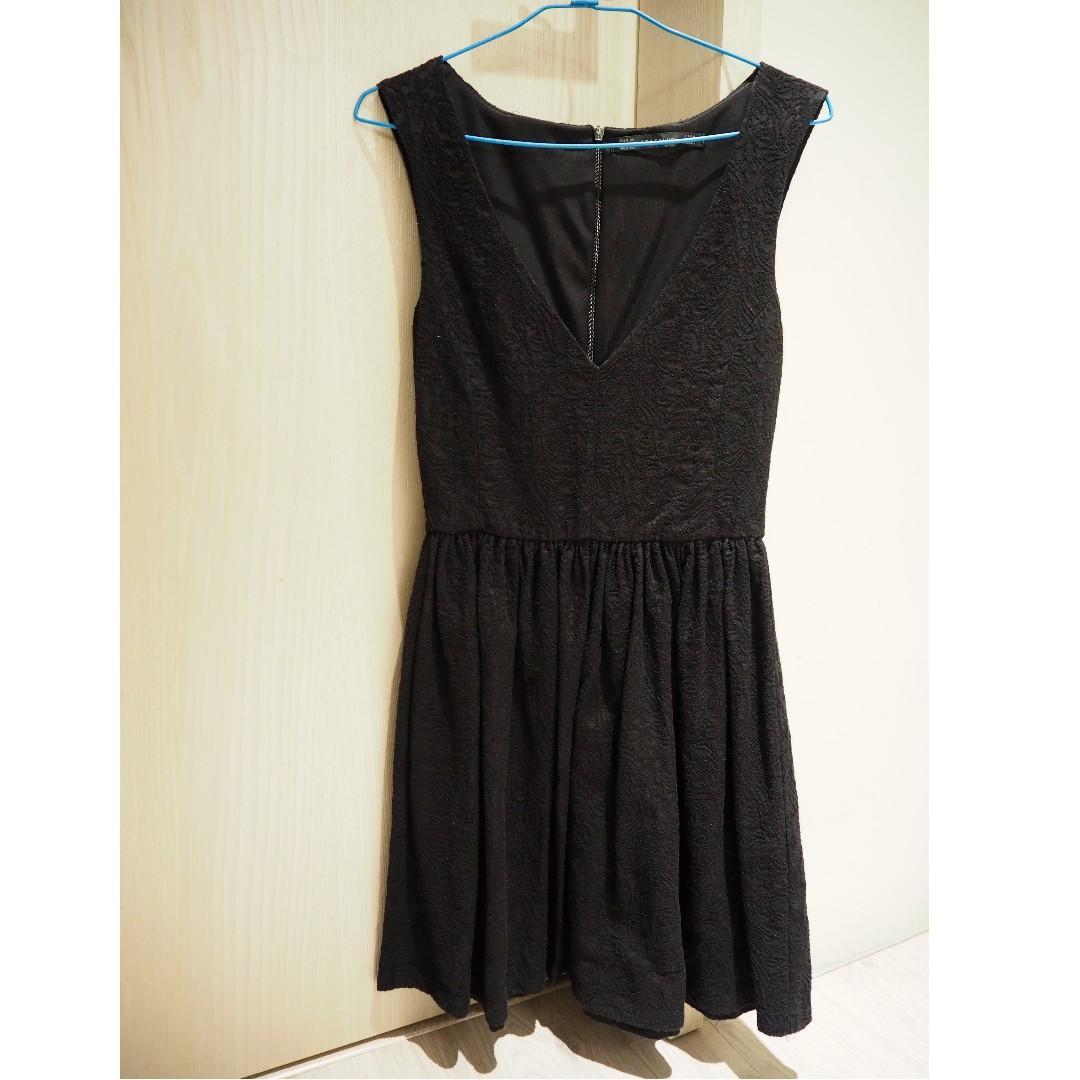 Zara 黑色 洋裝