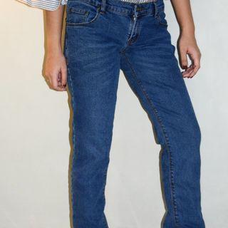 Medium Blue Denim Jeans