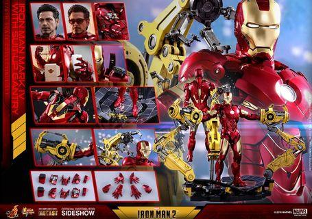 Hot Toys - MMS462D22 - Iron Man 2 - 1/6th scale Mark IV with Suit-Up Gantry Collectible Figure