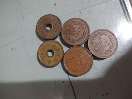 釋出日本錢幣
