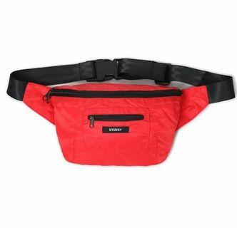 STUSSY FANNY PACK (RED)