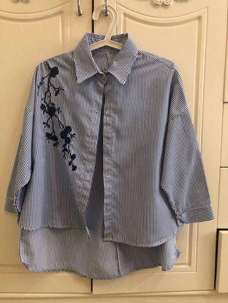 Blue Strip Tshirt