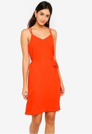 Zalora Cross Back Cami Dress