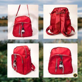 Backpack multifungsi untuk cewek