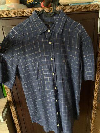 Aigner Linen Patterned Shirt