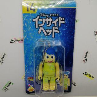 Bearbrick x Disney Inside Out Joy toy figure