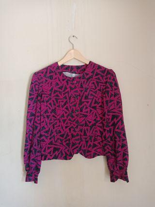 Thrift blouse vintage
