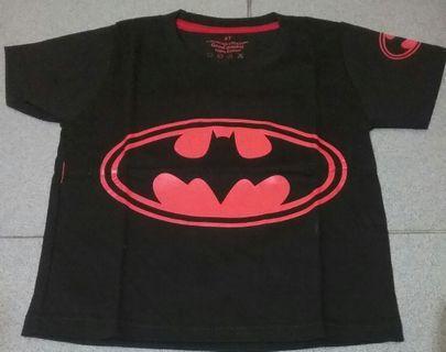 Kaos anak Batman 3 tahun