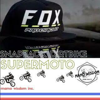 snapback supermoto dirtbike