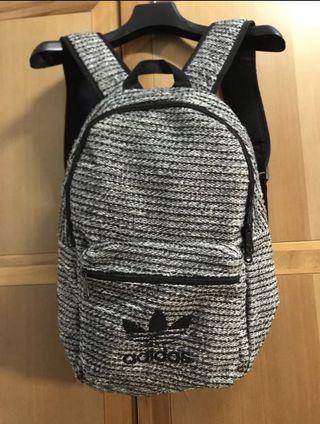 adidas 三葉草 編織後背包 日本專櫃購入