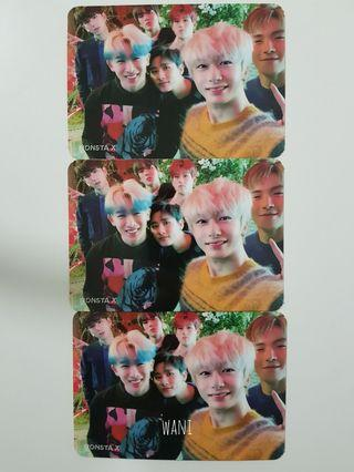 MONSTA X We Are Here Group Photocard