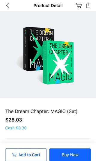 [PURCHASE SERVICES] TXT THE DREAM CHAPTER: MAGIC