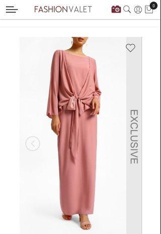 SHALS Aisha Set in Dusty Pink L