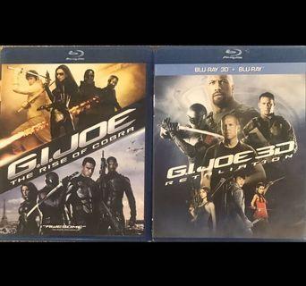 (藍光) 2 x G.I. Joe Movies 特種部隊:眼鏡蛇的崛起 & 特種部隊2:正面對決3D+2D雙碟版 [中文字幕]