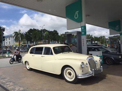Vintage Classic Car Daimler Limousine