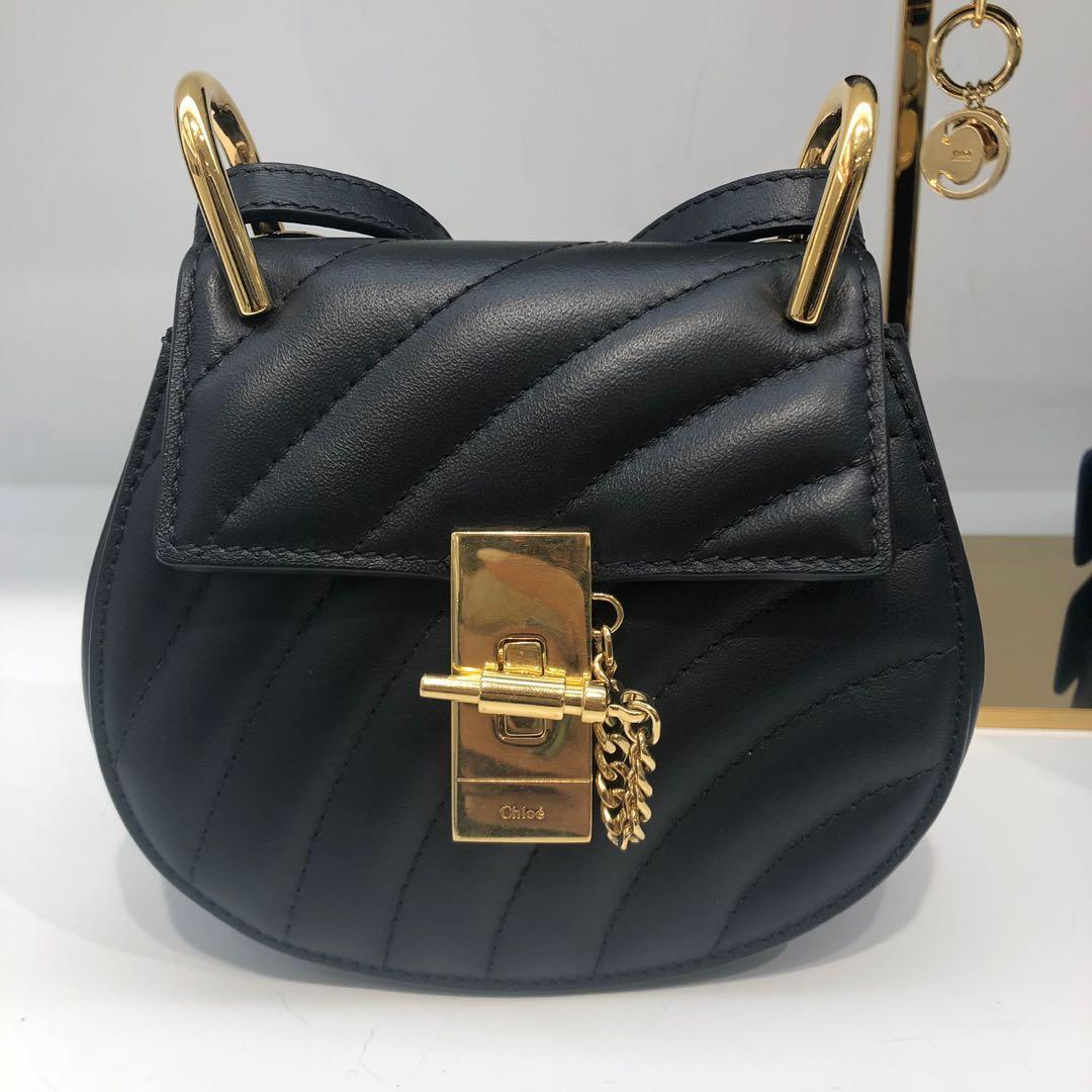 原價$12130!Chloe Drew shoulder Bag mini/small