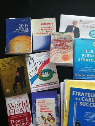 Textbooks on Coaching & HR Management
