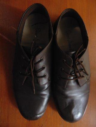 Giant Flames Leather Shoes